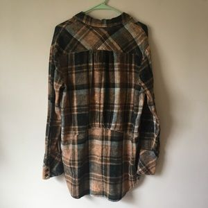 96a75923cc2c2e Free People Tops - Free People Flannel Tunic